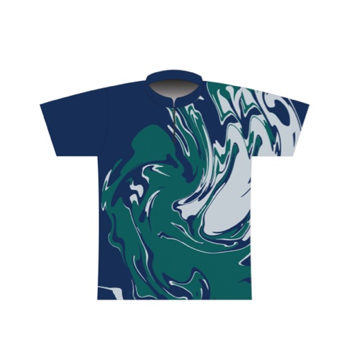 BBR Signature Dye Sublimated Jersey 049- Seattle Marble