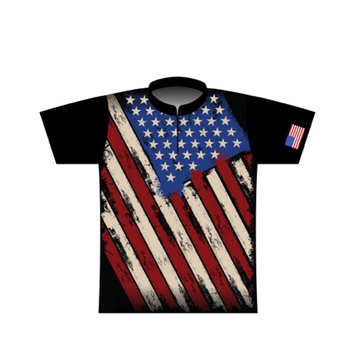 BBR Patriotic Dye Sublimated Jersey 004