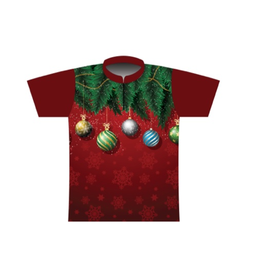 BBR Christmas Dye Sublimated Jersey 005