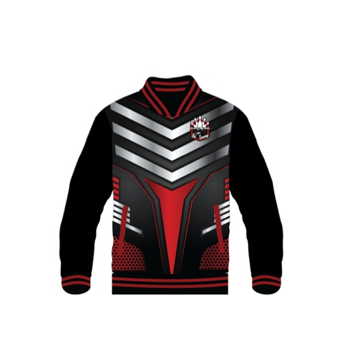 BBR EBG Dye Sublimated Satin Jacket 004