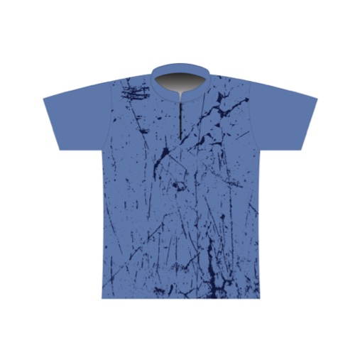BBR Signature Dye Sublimated Jersey 090- Memphis Grunge