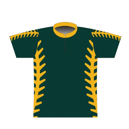 BBR Signature Dye Sublimated Jersey 040- Oakland Stitching