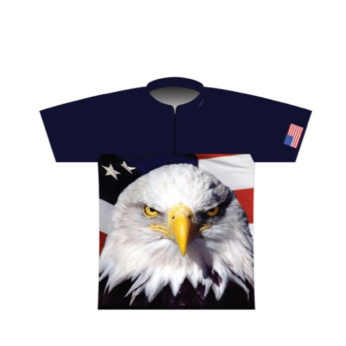 BBR Patriotic Dye Sublimated Jersey 007