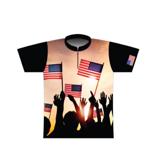 BBR Patriotic Dye Sublimated Jersey 009